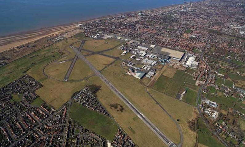 BlackpoolAirport from air 2